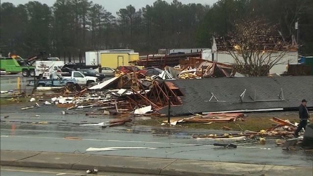 Adairsville storm damage 2