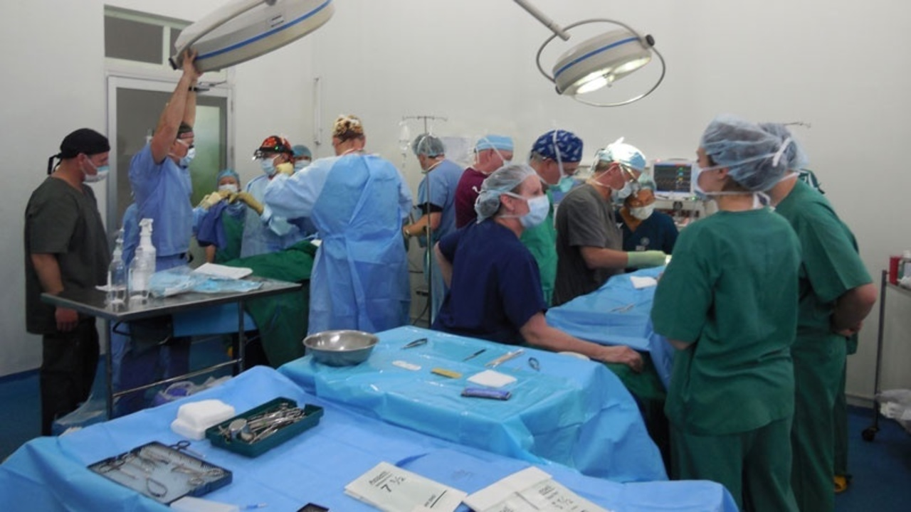 Next day in Vietnam: More surgeries