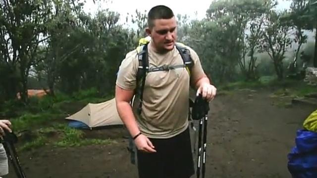 Bryan Wagner climbs Mount Kilimanjaro