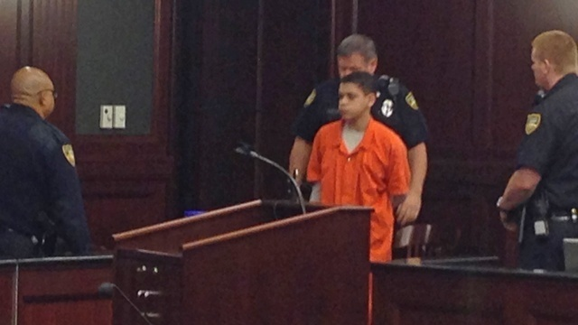Cristian Fernandez in court