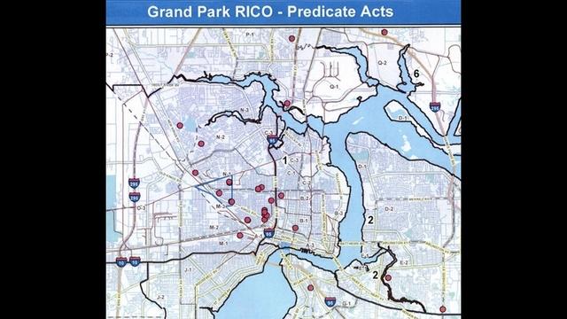 Grand Park RICO map