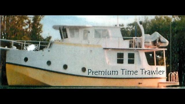 Karen Barnes' boat