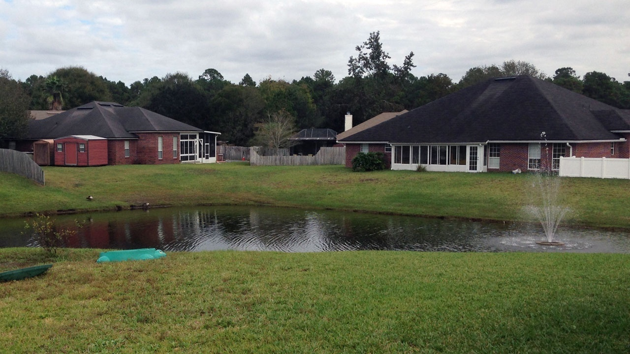 4 year old boy nearly drowns in retention pond for Local pond stores