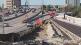 Overland Bridge Project lane shifts create confusion for some drivers