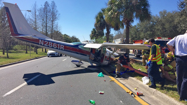 Waldo Road plane crash