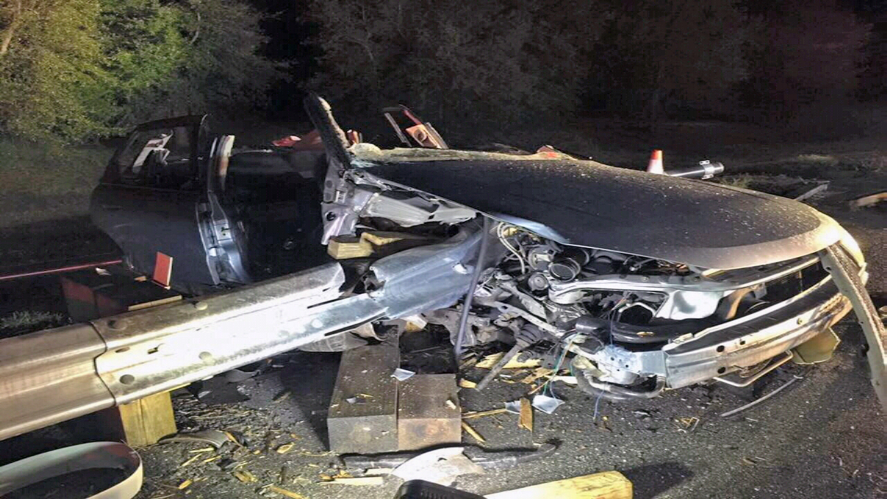 FHP: Crash injuries not the fault of guardrail