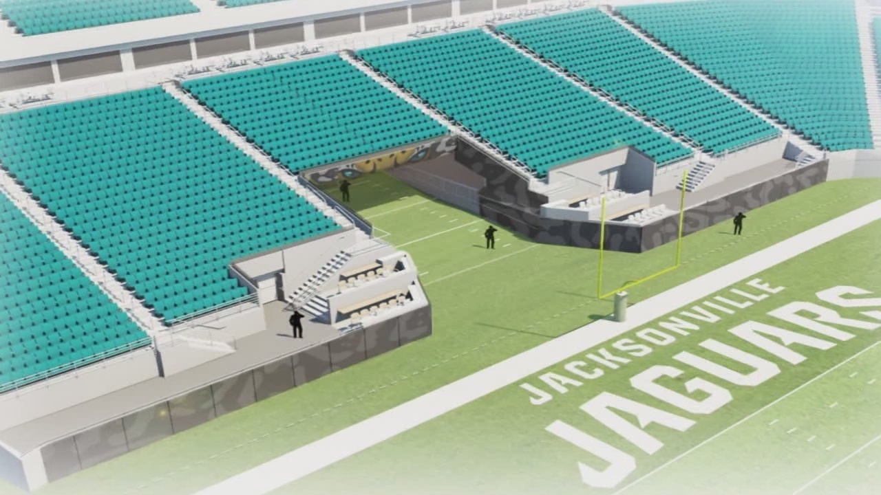 Jaguars Unveil Plans For New End Zone Tunnel