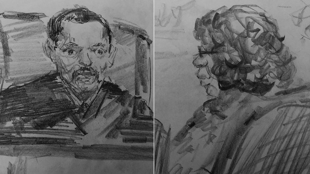 Judge Klindt and Corrine Brown