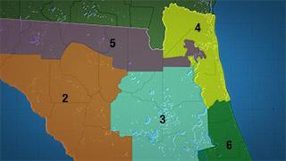 Ne Florida Congressional Districts