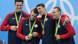 Local swimmer on 4x100m freestyle relay team wins gold
