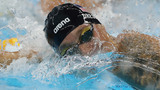 1st-time Olympian Dressel takes 6th in 100 free