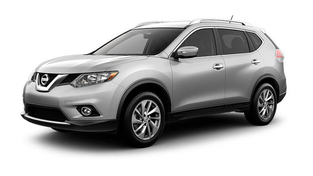 2015 silver Nissan Rogue
