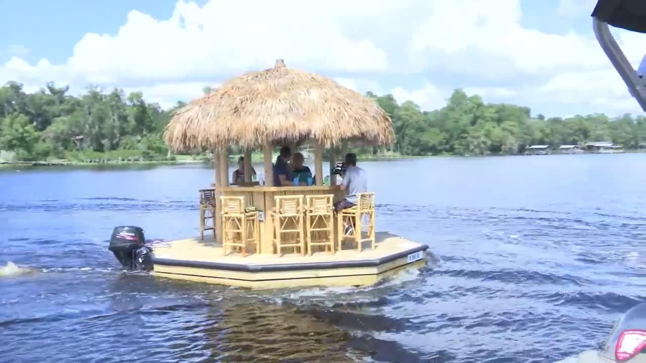 The Tiki Boat at Freedom Boat Club