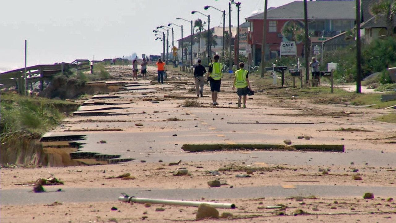 Flagler S Beaches Partially Reopen A1a Rebuilding To Begin