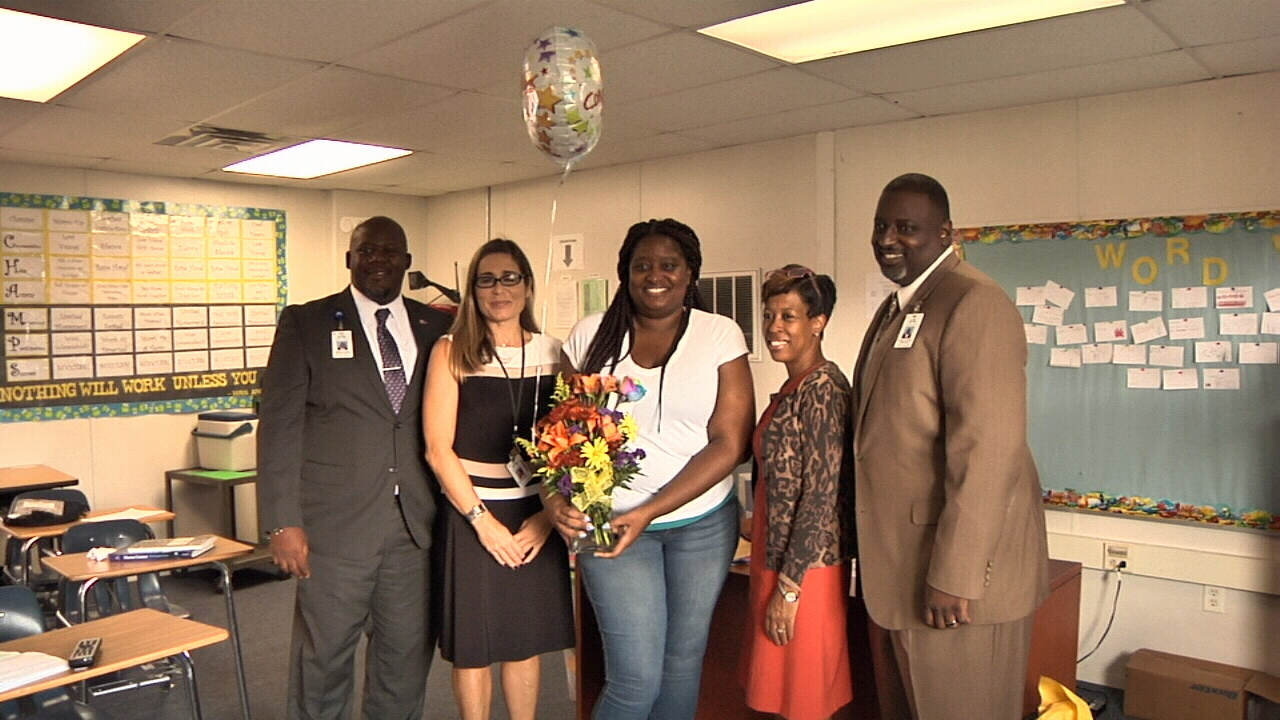 Northwest Credit Union >> Westside High science teacher surprised with honor