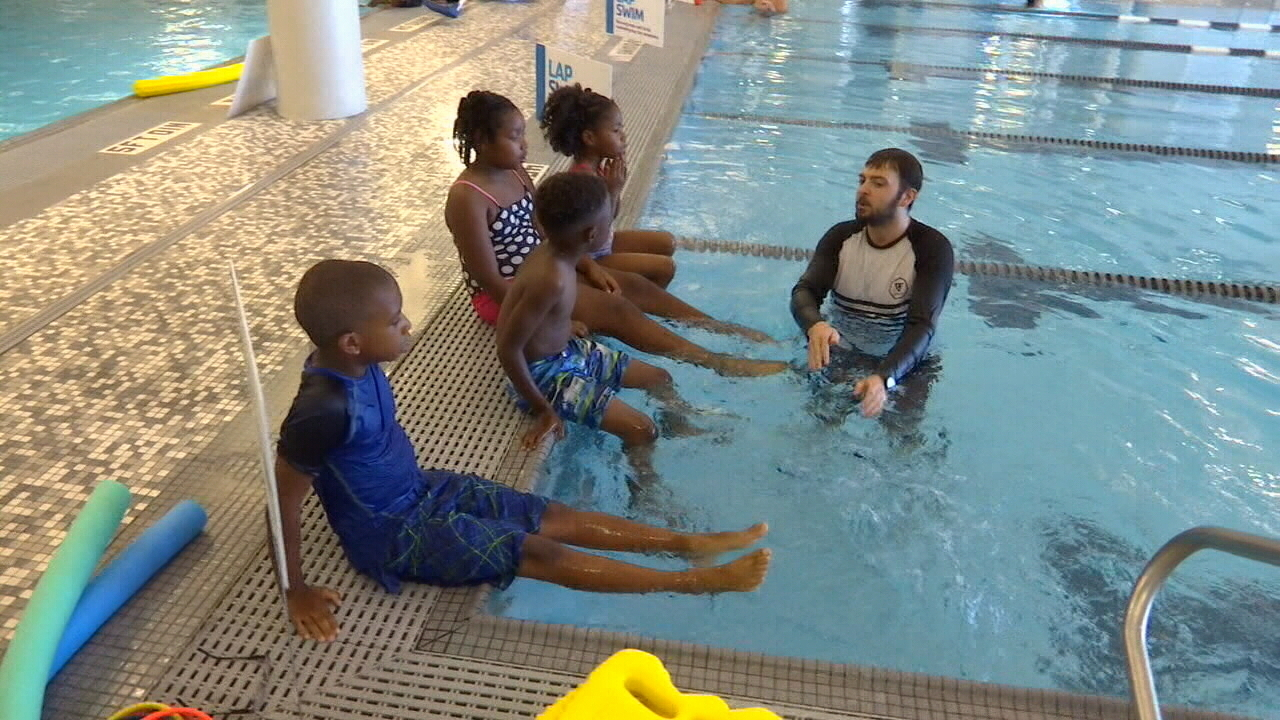Free swim lessons for duval county children for Swimming pool lessons for kids