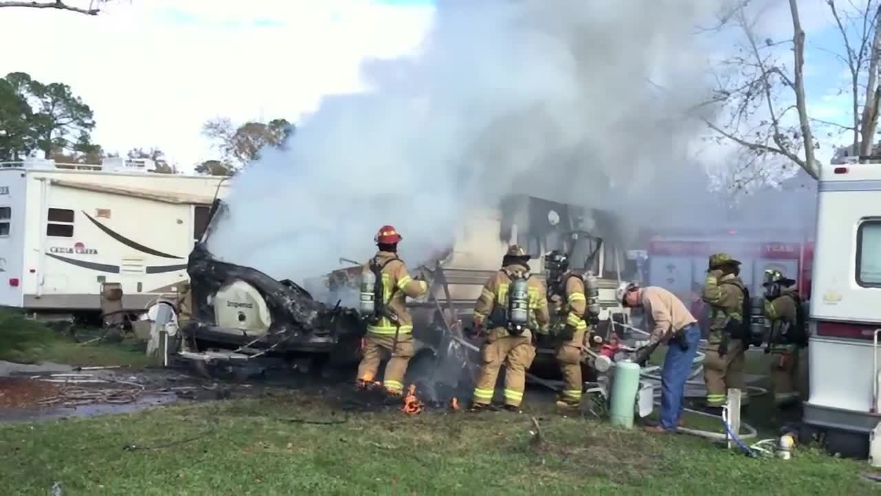 Rv That Exploded Burned May Have Contained Meth Lab