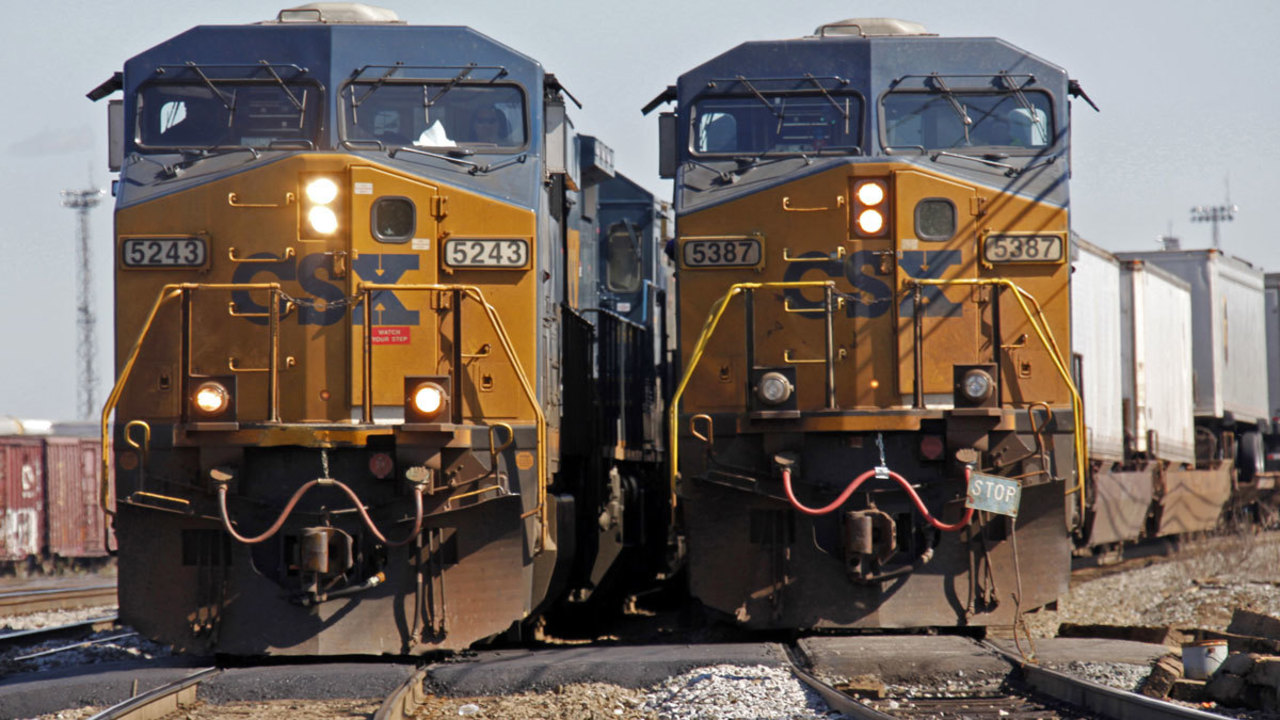 Csx Reaches Deal With Hedge Fund Names New Railroad Ceo