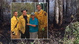 Owner praises firefighters for saving home from wildfire