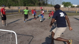 Sports, military mix creates unique experience for kids