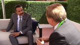 Sam Kouvaris with Shad Khan at NFL owners meeting