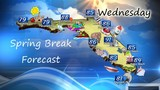 Camden County Spring Break forecast