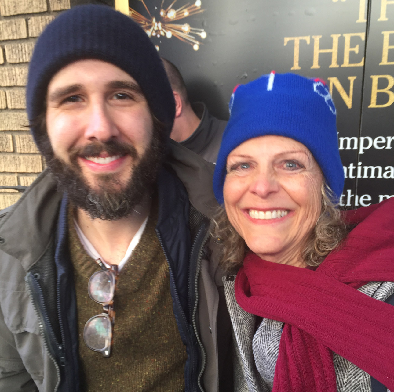 Deborah with Josh Groban