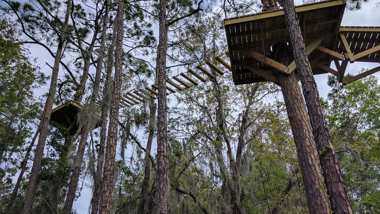 2nd Ziplining Adventure Opening Soon In St Augustine