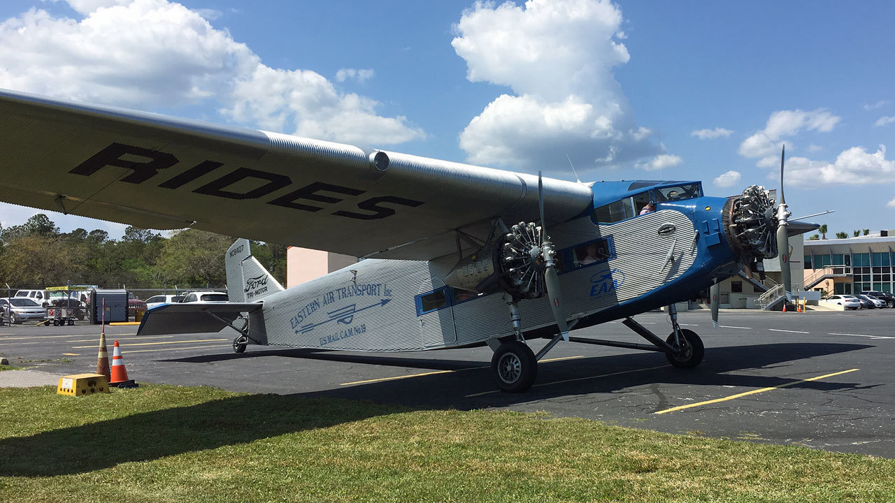 Relive Roaring 20s In Ford Tri Motor