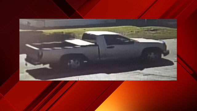 Police say it's possible the pictured truck is tied to the person involved in the sexual assault