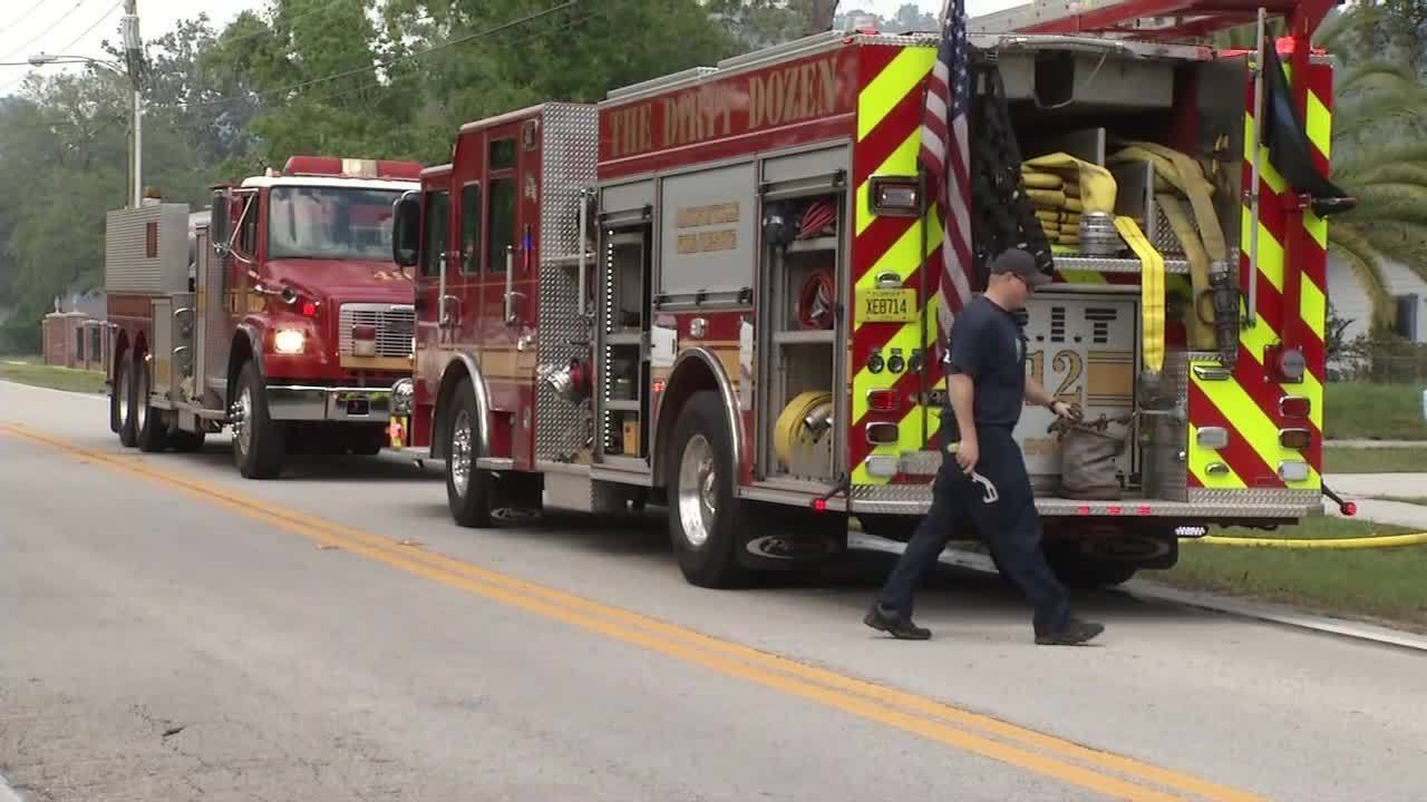 Fire Scorches 12 Acres On Southside Closes Road