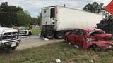 6 people injured after 9-vehicle crash in Starke
