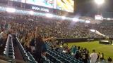 Fans cheer after Jaguars draft LSU RB Leonard Fournette
