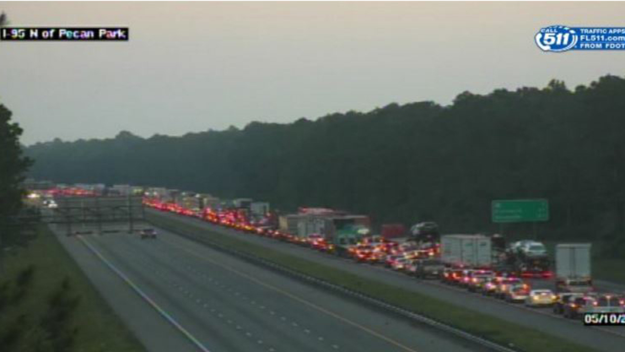 Florida Highway Patrol Traffic >> Traffic tie-ups on I-95 heading to Nassau County