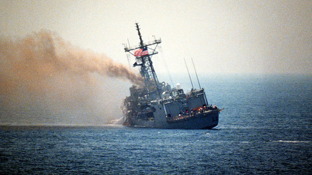 USS Stark attack