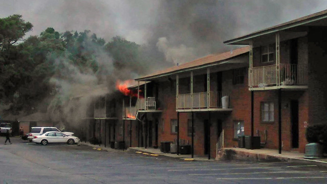 Fire At Arlington Complex Displaces 16 Residents