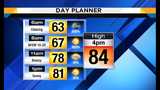 Drier and cooler today and tomorrow morning