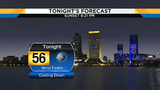 Cooling down tonight under clear skies