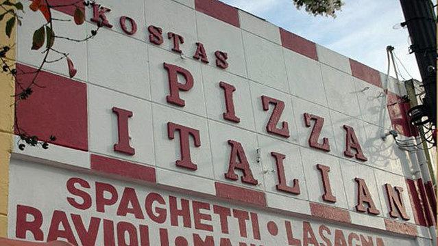 Kostas-Pizza Italian restaurant