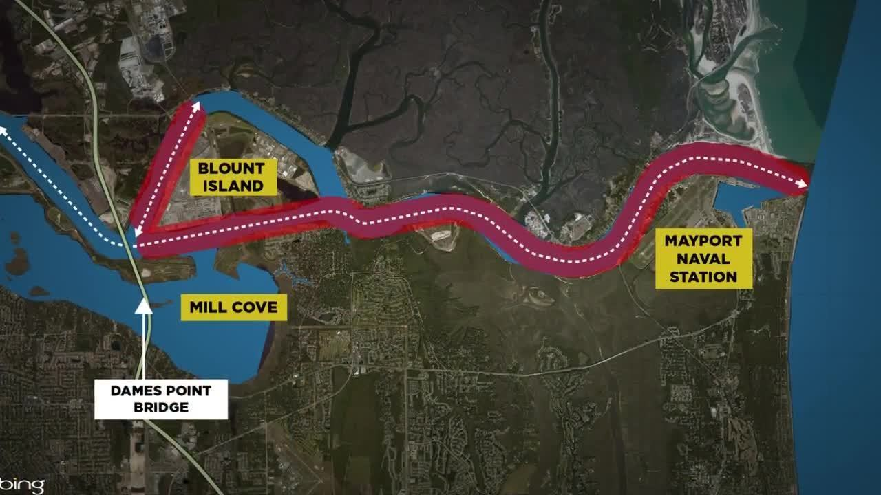 St Johns River Dredging Project Shortened By 2 Miles