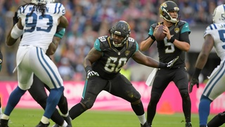 Jaguars offensive lineman A.J. Cann celebrates birth of baby girl