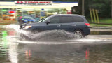 Flooding causes hidden road dangers in Brentwood