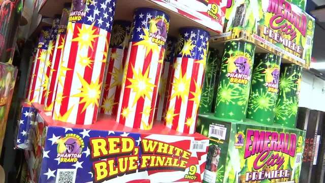 Do you know which fireworks are legal?