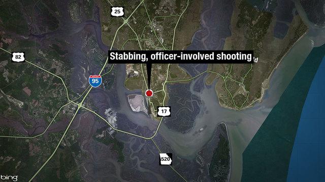 N-street-Brunswick-shooting map