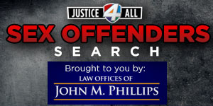 Justice 4 All link to sex offender search