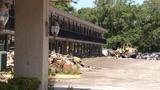 Demolition begins on troubled Orange Park hotel
