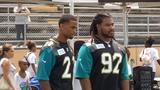 Jaguars host NFL play 60 character camp