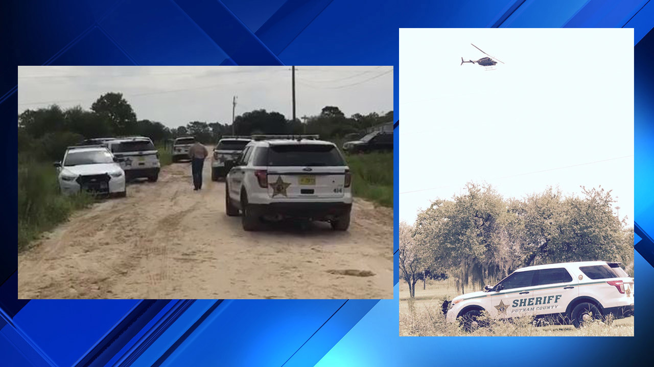 Deputies searching for 4 armed burglary suspects in woods