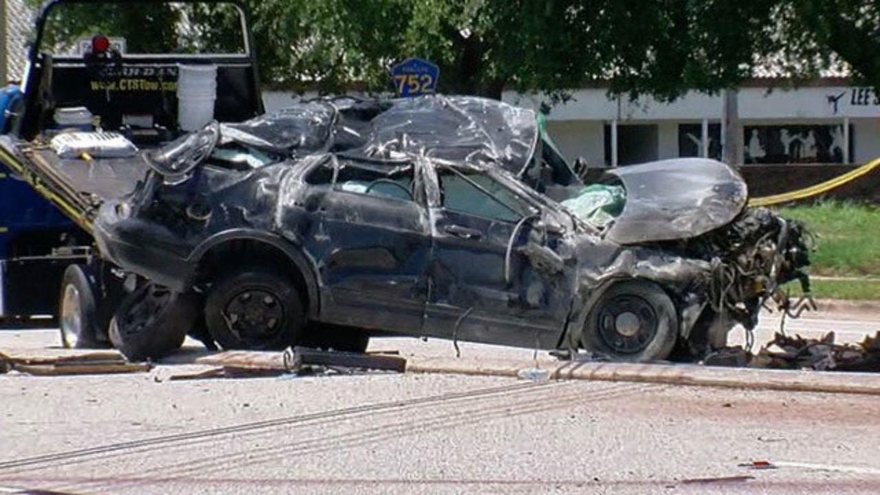 Car Crash In Pinellas Park Noverber