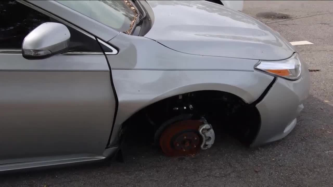 Video Thumbnail For A Dealership Fails To Secure Wheel Vehicle Later Crashes